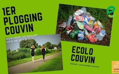 1er plogging de Couvin