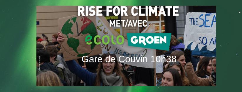 Marche européenne pour le climat * 27 janvier 2019 * Bruxelles
