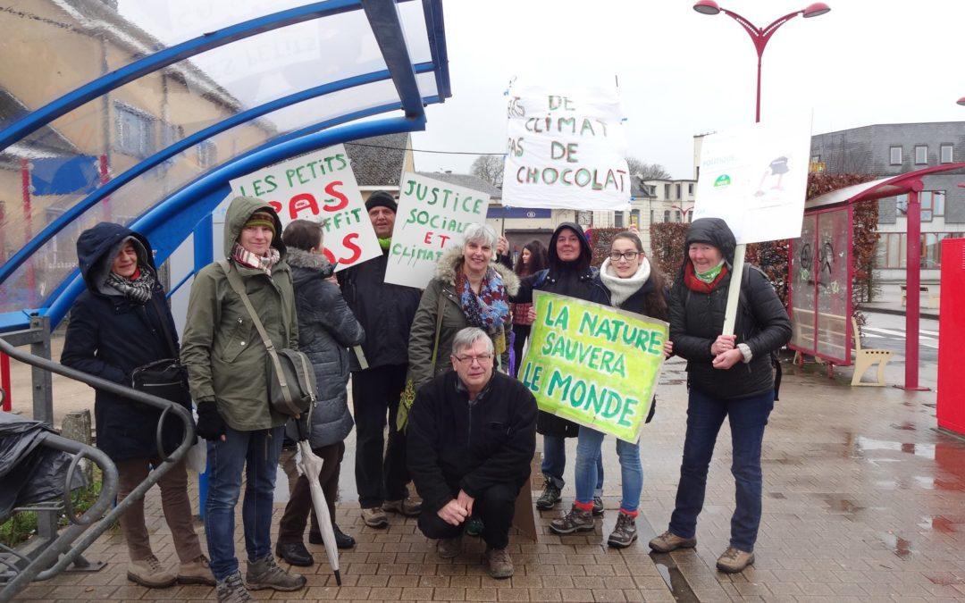 Marche européenne pour le climat: souvenir, souvenir…